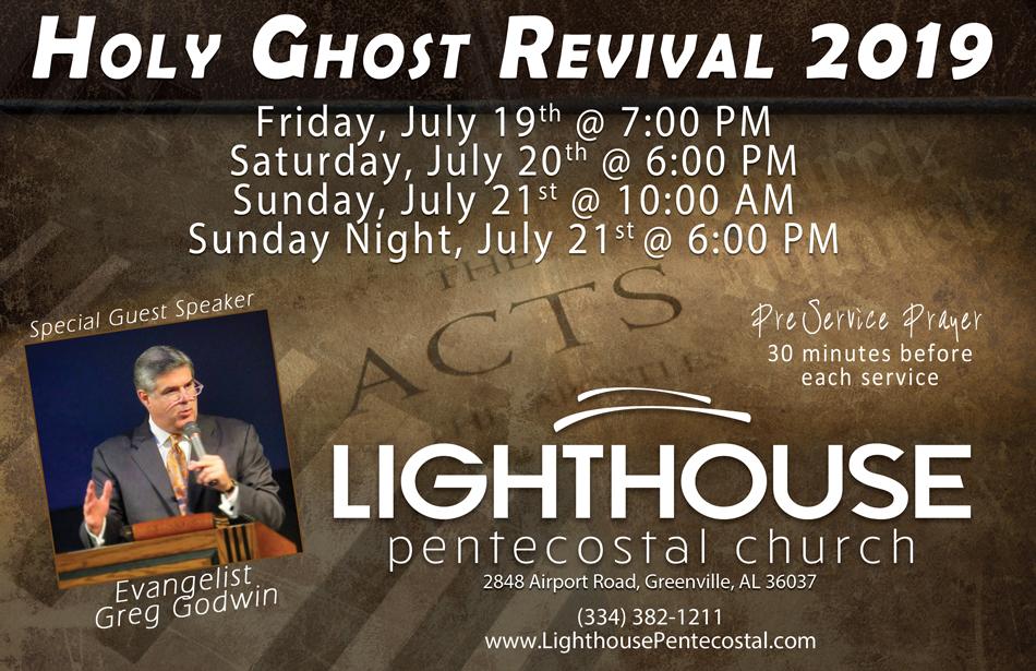 Lighthouse Pentecostal Church, Greenville, Alabama, Pastor Darryl Freeman, The Pentecostals of Greenville, Alabama
